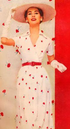 Vintage Fashion, Art, and Design - Google+ 1950
