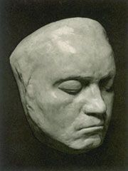 Death mask of Ludwig van Beethoven