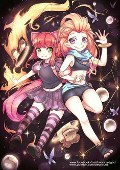 Annie|Zoe - League of Legends