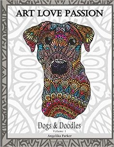 20 Gorgeous And Stress Relieving Adult Coloring Books For Dog People