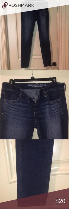 AE Jegging Super Stretch Never worn jeans, no signs of wear. American Eagle Outfitters Jeans Straight Leg