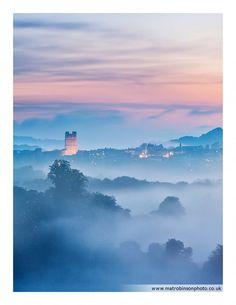 Richmond Mist, North Yorkshire, England