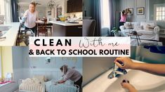 Here's what our new back-to-school routine looks like, including organization tips, what chores my kids are helping with some water saving tips and tricks which I have been teaching my kids and putting into practice myself.