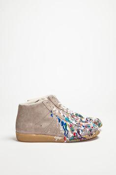 Maison Martin Margiela - Replica Sneaker Mid Paint - TRÈS BIEN