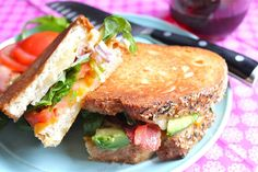 ValSoCal: California Club Grilled Cheese