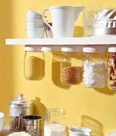Cucina: moltiplicate lo spazio sotto la mensola!
