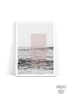Ocean print ocean decor ocean art sea print by PrintsMiuusStudio