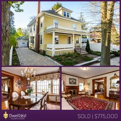 Edward Johnston and John Lynch listed and sold this stunning West Roxbury colonial for well over asking! #sold #realestate #WestRoxbury #WestRox #Boston #Dwell360 #EdwardJohnston #JohnLynch