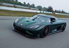 The Koenigsegg Agera unveiled at the 2011 Geneva Motor Show by the Swedish car manufacturer. The car is one of the fastest production cars in the world. Lamborghini Veneno, Koenigsegg, My Dream Car, Dream Cars, Geneva Motor Show, Most Expensive Car, New Trucks, Limousine, Twin Turbo