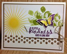 Stampin' Up! Kinda Eclectic--love the eclectic look, but clean & crisp....that's my style.  By Jackie Bolhuis