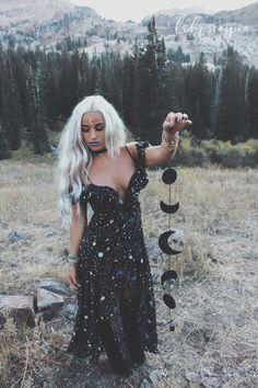 Image result for vintage halloween blonde witch