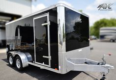2013 Aluminum Raven Lite Cargo Trailer (with Motorcycle Package) (ATCRLT714TA2) by ATC Trailers, via Flickr