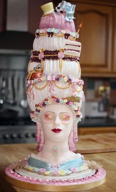 The extraordinary cake will now go on display in a local cake shop in Maldon, Essex, as part of a competition to raise funds for Farleigh Hospice