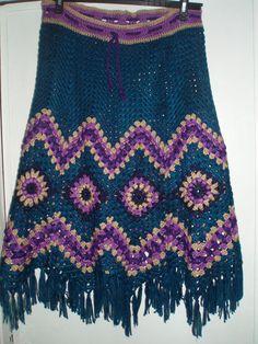 Exclusive hand crocheted skirt for girl or women.    Hips 39-41`  Length 33``