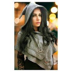 Pagan Fashion, Mori Fashion, Wiccan Clothing, Pixie Outfit, Winter Cape, Witchy Outfit, University Style, Witch Dress, Festival Outfits