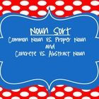 Students remember that nouns are a Person, Place, Thing or Idea... but when it came to Proper Nouns vs. Common Nouns and Abstract Nouns vs. Concret...