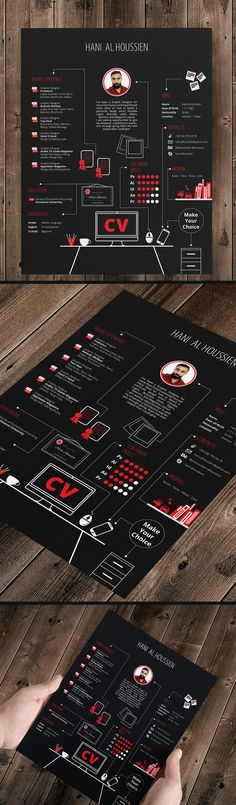 Graphic design CV Graphic Designer on Behance Cv Website, Cv Original, Cv Curriculum Vitae, Cv Inspiration, Ecole Design, Graphisches Design, Creative Cv Design, Design Trends, Design Ideas