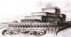 Ивановский государственный театральный комплекс, Ivanovo, Russia, 1932—39 / the Palace of Arts, Ivanovo, Russia, 1932—39
