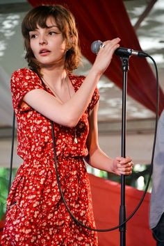 Lauren Mayberry. What do u think of Chvrches? i like them but it confuses me that she looks like she is five.