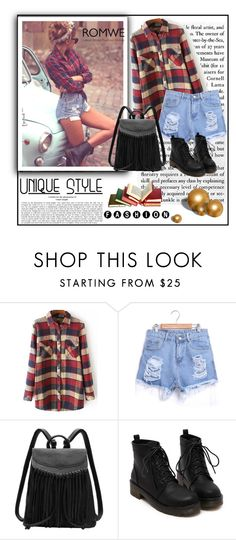"""""""Romwe 9/VIII"""" by merima-p ❤ liked on Polyvore featuring Topshop"""