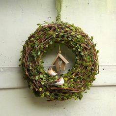 for those wreaths...cute!