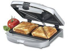 #grill #sandwich maker #panini press cuisinart kitchen electric indoor Breakfast