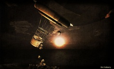 Confused Words Fall From Hot Air Balloon by Nessuno Myoo by Sivi Kelberry, via Flickr