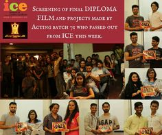 Look at the glimpses of screening of DIPLOMA SHORT FILM and PROJECTS made by passing out batch 71.  ICE wishes you ALL |THE VERY BEST for your FUTURE in media and entertainment industry!!!  #fashionICE #Balajitelefilms #Mediaschool #Actingschool #shortfilms #Diplomafilm #Acting #Direction #Editing #Cinematography #LIVESHOOT #
