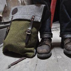 Foot Soldier Wool Scout Pack by Duluth Pack