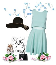 """blue tunnel"" by alicediangelo on Polyvore"