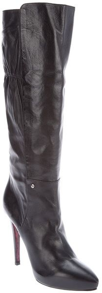 CESARE PACIOTTI Knee High Boot - Lyst
