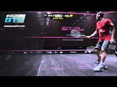 Squash : Amr Shabana v Gregory Gaultier : ATCO PSA 2011 World Squash Series Finals
