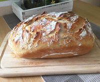 Rezept Dinkel-Joghurt Brot von – Rezept der Kategorie Brot & Brötche… Recipe spelled yogurt bread by – recipe of the category bread & rolls Backen