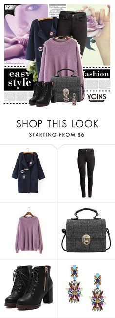 """Yoins  38"" by melodibrown ❤ liked on Polyvore featuring H&M"