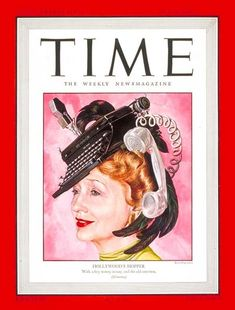 TIME Magazine Cover: Hedda Hopper - July 28, 1947 - Gossip