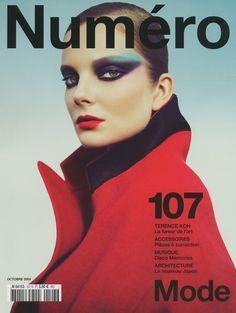 numero october 2009 cover