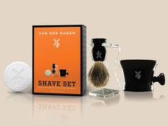 Last-minute gifts for the whole family: Van Der Hagen Men's Luxury Shave Set, $39.99.