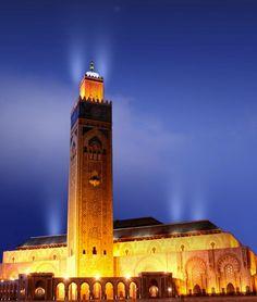 Moroccan Mosque , Hassan II , #Morocco #Casablanca