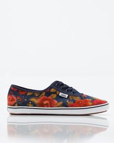 Floral Van's, want these sooooooooooooo bad!!!!!