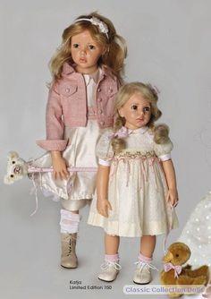 Katja 2011 resin doll by by Hildegard Gunzel