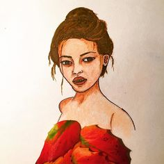#inspiration #floral #illustration #natgeo #lover #nature #artsy #leaf #facial #feature #face #woman #flower #drawing #painting #portrait #sketch #art #artwork #beautiful @natgeocreative @instagram @artsy Sketch Art, Disney Characters, Fictional Characters, Facial, Artsy, Woman, Portrait, Disney Princess, Drawings