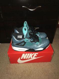 e9dda60d6f6088 Air Jordan 4 Retro 30th Anniversary Teal Size 10 Great Condition  fashion   clothing  . Jordan 4TealAthletic ShoesAir ...