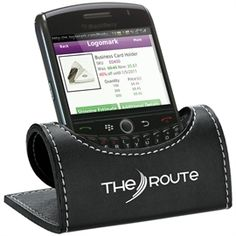 Know where your phone is? Keep it in this folding cell phone holder and you'll never have to wonder again.  Folding desktop cell phone holder.  Ships flat and fits in No. 10 envelope for easy mailing.