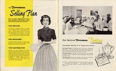 Vintage Tupperware Selling Plan booklet