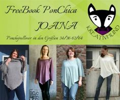 FreeBook PonChica JOANA Größe 34-64