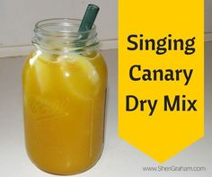 Singing Canary Dry Mix - Sheri Graham: Helping you live with intention and purpose! Trim Healthy Recipes, Trim Healthy Mama Plan, Thm Recipes, Detox Recipes, Cream Recipes, Healthy Options, Drink Recipes, Recipies, Good Girl Moonshine