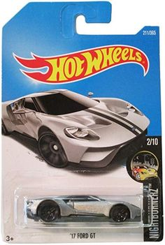 Silver with black stripes on top of the car. in the 2017 Nightburnerz series. in the 2017 Hot Wheels line. Ford Gt 2017, Swat Costume Kids, Mazda, Bike Poster, Classic Car Insurance, Matchbox Cars, Cards Against Humanity, Unique Cars, Hot Wheels Cars