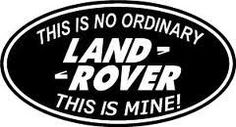 I'd Rather Push a Land Rover Than Drive a Jeep Badge Defender TDI Sticker for sale Defender Td5, Land Rover Defender 110, Landrover Defender, Landrover Series, Range Rover 2018, Range Rover Discovery, Land Rover Off Road, Best 4x4, Learning To Drive