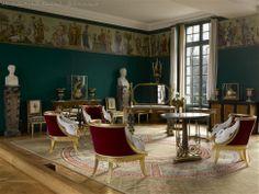 La salle de la frise - Musée national du château de Malmaison