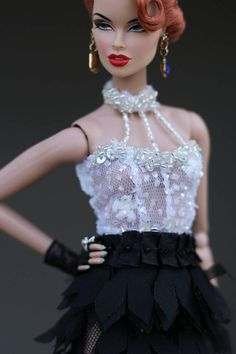 I am the best Dress for Fashion Royalty FR2 NuFace Barbie